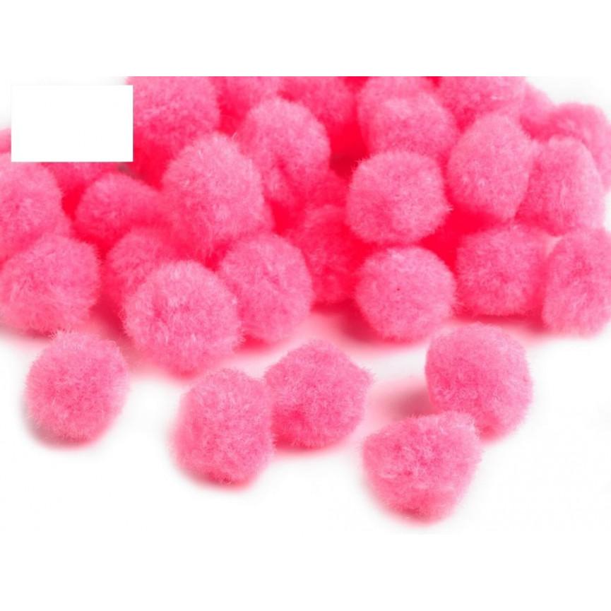 Pompony kolorowe 13mm