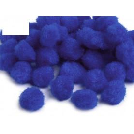Pompony kolorowe 10mm