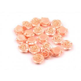 Łososiowe - Różyczki koraliki – 13mm