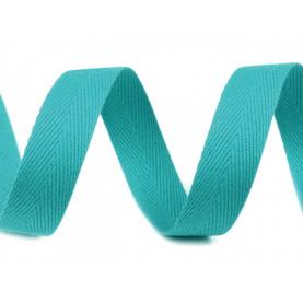 Wstążka bawełniana 14mm - NIEBIESKA