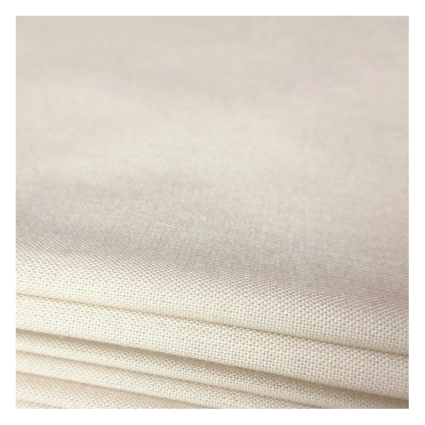 Bawełna cielista OLIWKA - materiał na ciało lalki