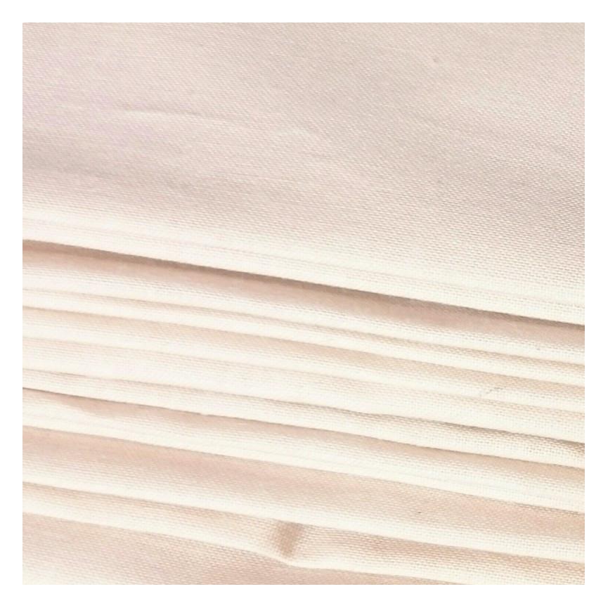Bawełna cielista KREM - materiał na ciało lalki