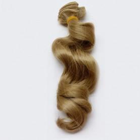 NATURALNY BLOND Falowane 15cm Włosy Do Lalek