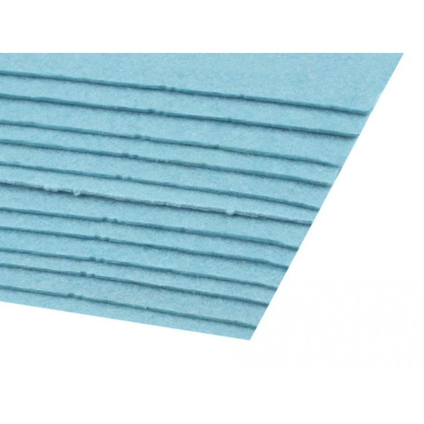 Filc 1,5mm sztywny – A4 błękit