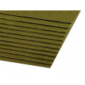 Filc 1,5mm sztywny – A4 oliwkowa zieleń