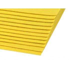 Filc 1,5mm sztywny – A4 żółć