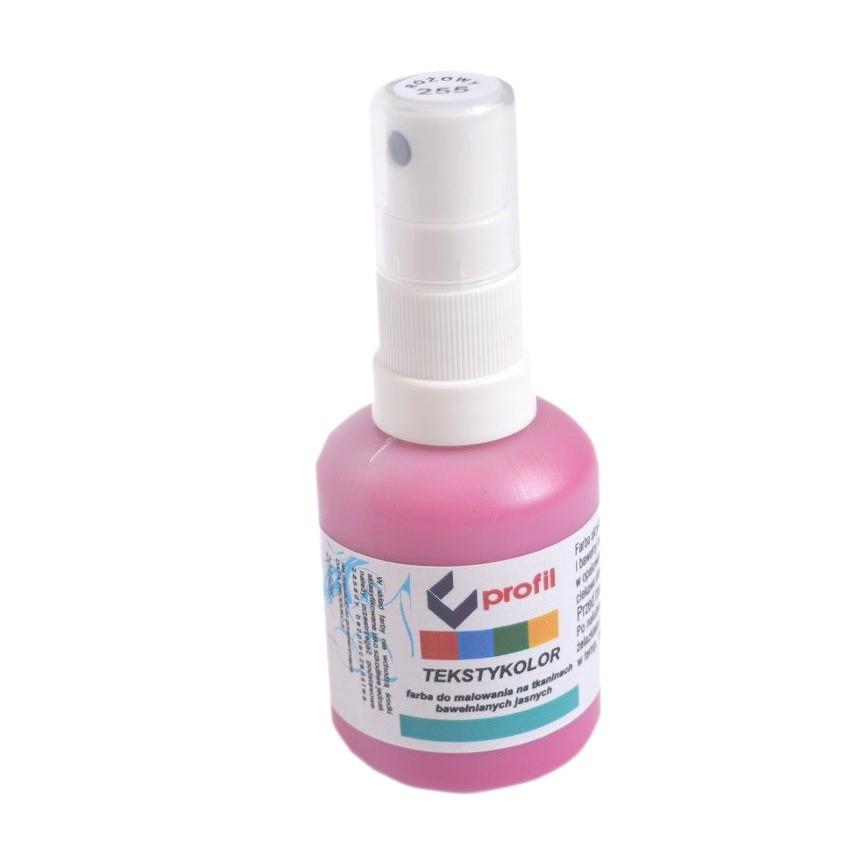 Farba Do Tkanin z Atomizerem 50ml - Różowa