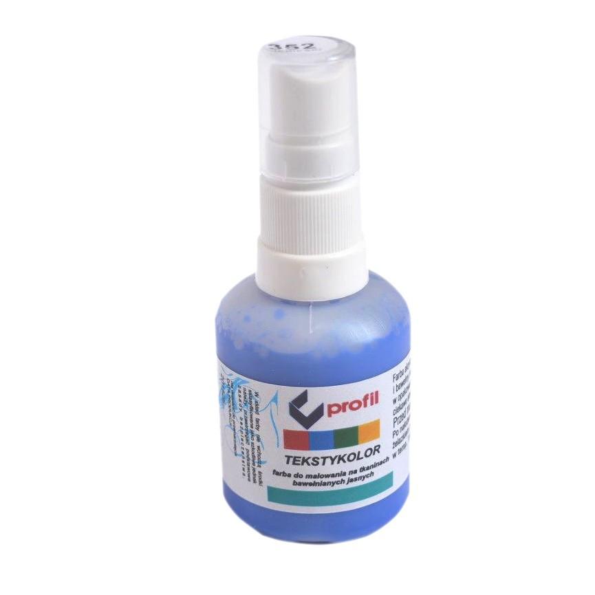 Farba Do Tkanin z Atomizerem 50ml - Niebieska