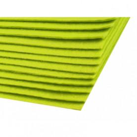 Filc 1,5mm sztywny – A4 zieleń