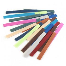Rzep, stonowane kolory – paski 20cm