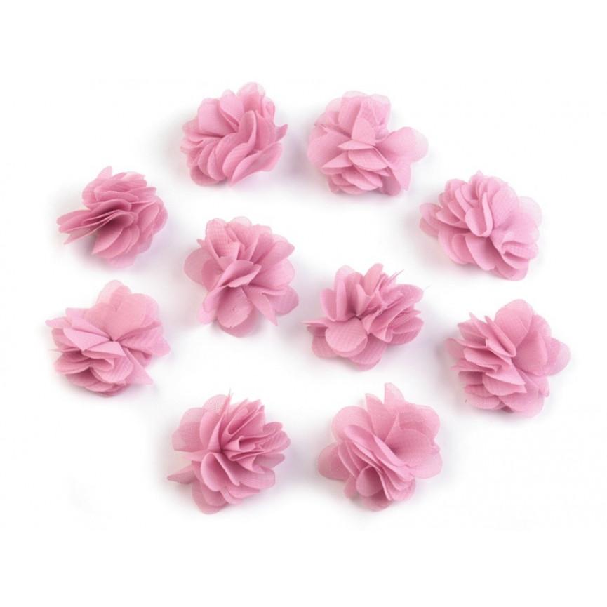 Zwiewne kwiatki 30mm LILIOWE - 10szt