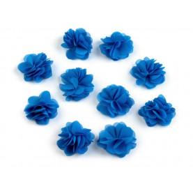 Zwiewne kwiatki 30mm NIEBIESKIE - 10szt