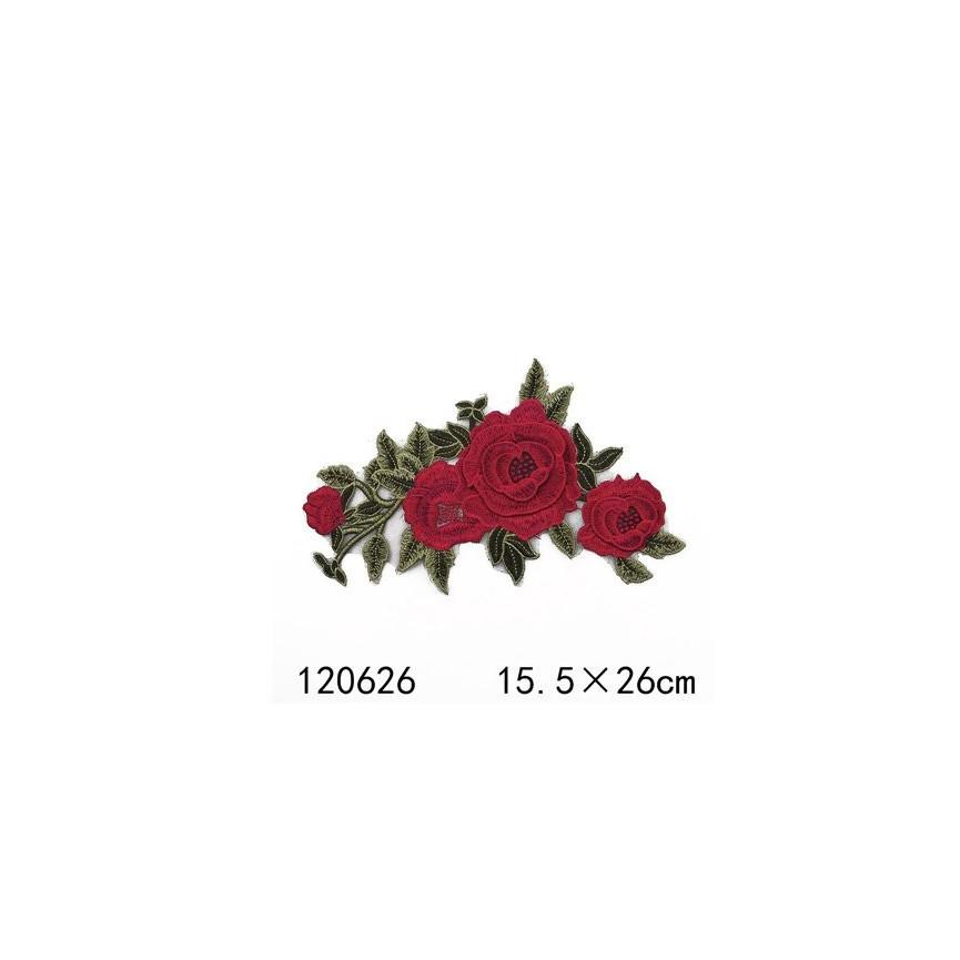 GAŁĄZKA RÓŻ 01 - Naprasowanka, 260x155mm