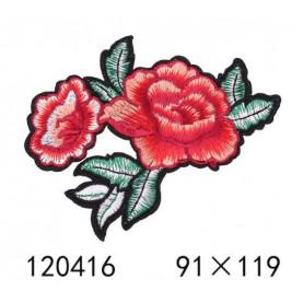 Róże Z LIŚĆMI - Naprasowanka, 91x119mm