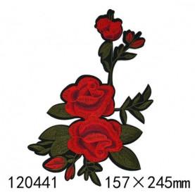 GAŁĄZKA RÓŻ 04 - Naprasowanka, 157x245mm