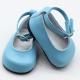 NIEBIESKIE Baletki dla Lalek - 7cm