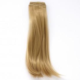 NATURALNY BLOND Podwinięte DŁUGIE 25cm Włosy