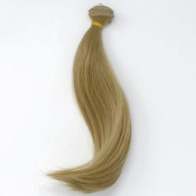 BLOND Popielaty (41) - Super podwinięte 15cm - Włosy do Lalek