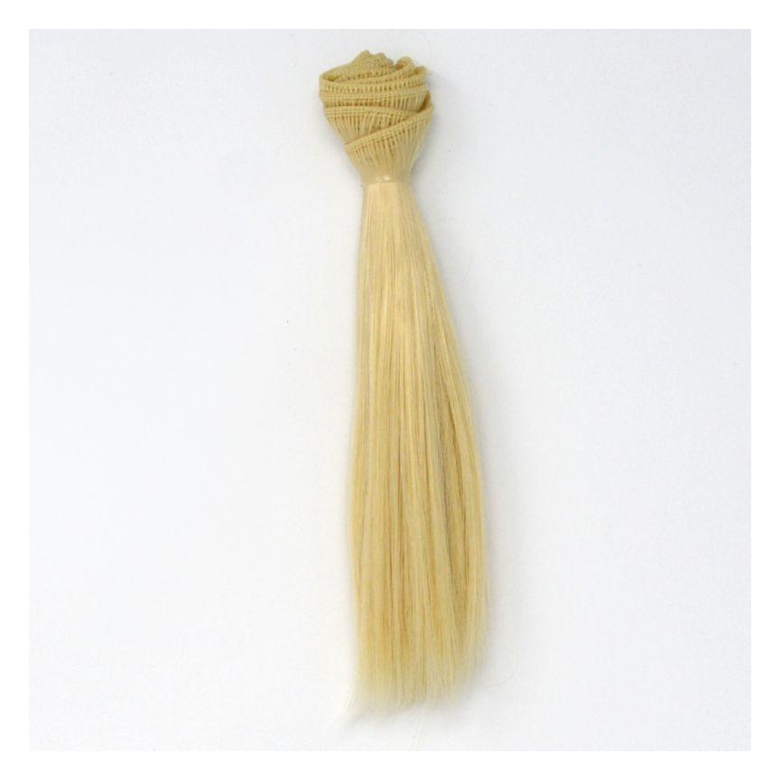 Włosy Do Lalek Proste Blond