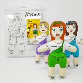 Lalka Do Uszycia NINA - zestaw do szycia