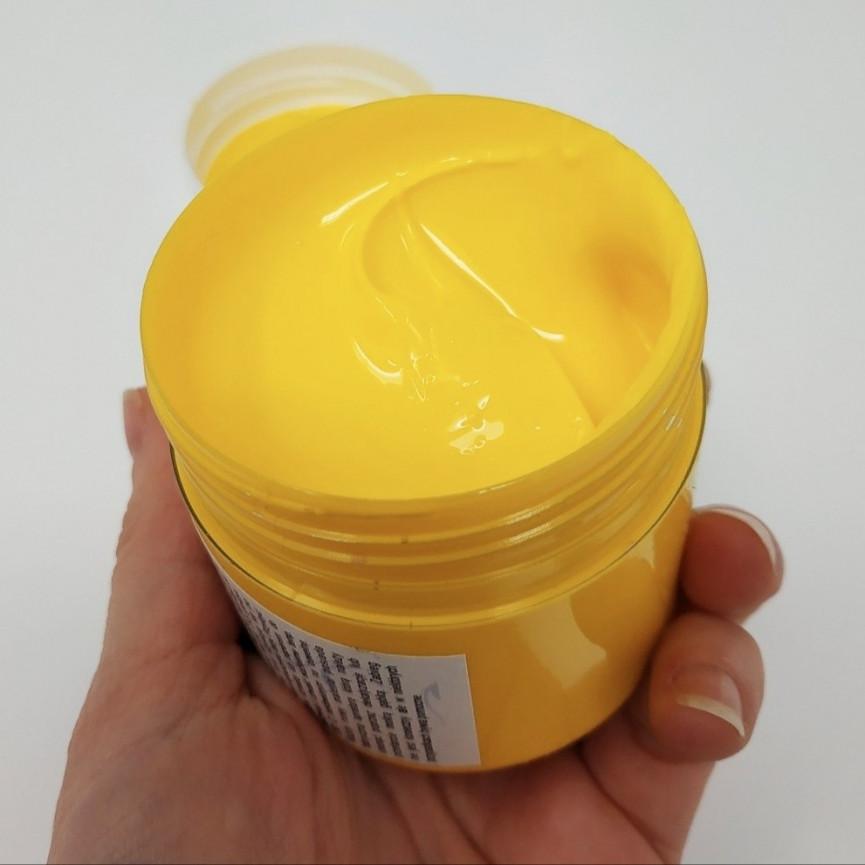 FARBA DO TKANIN - 150ML - Żółta Jasna - DO BAWEŁNY, PROFIL