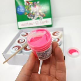 Zestaw farb do tkanin - 12 kolorów x 25ml