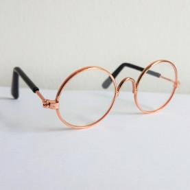 Okulary dla lalek i misiów- Transparentne