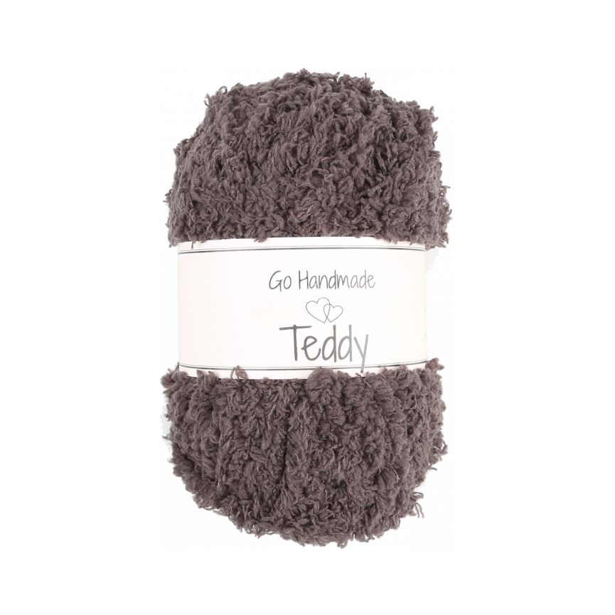 TEDDY - Dark Brown [Go Handmade]