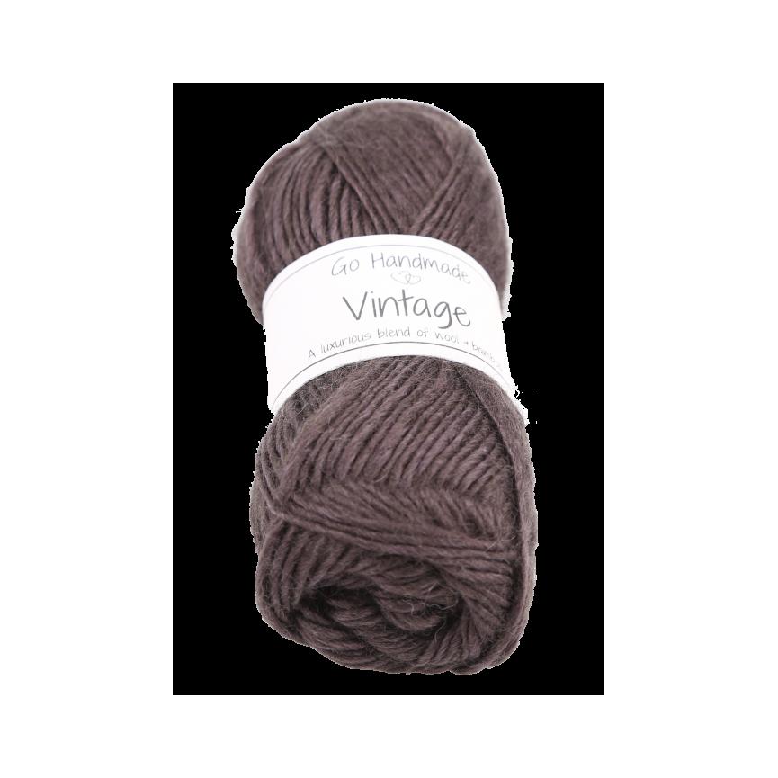 VINTAGE - Dark Brown [Go Handmade]