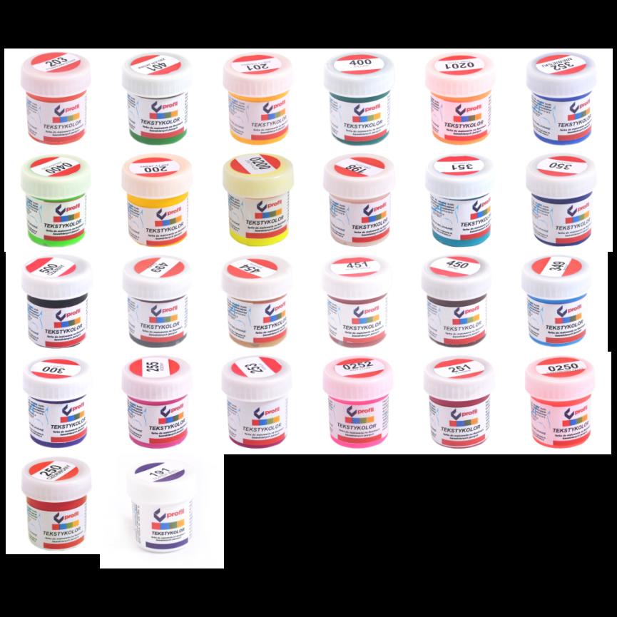 Wszystkie kolory: 26szt. x 25ml