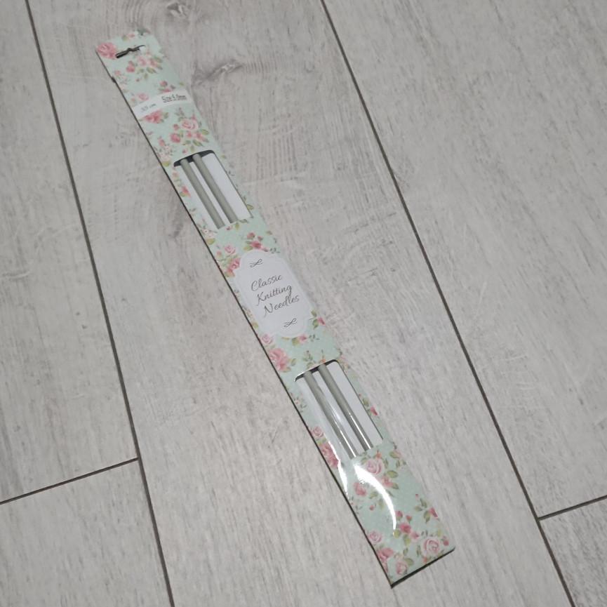 Druty proste metalowe- 35cm