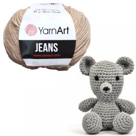 Włóczka bawełna akryl YARNART - JEANS