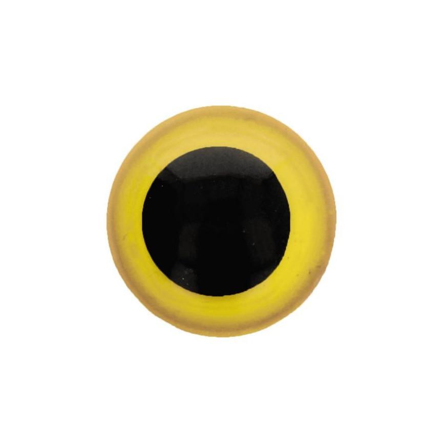 Kolorowe oczy bezpieczne 20mm - opakowanie 25 szt