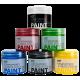 Zestaw Farb do Jasnych Tkanin - 6x50ml