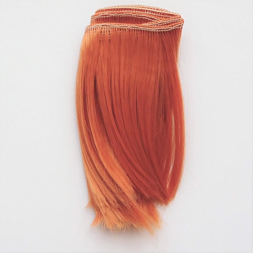 RUDY (7) - Podwinięte 10cm - Włosy do Lalek