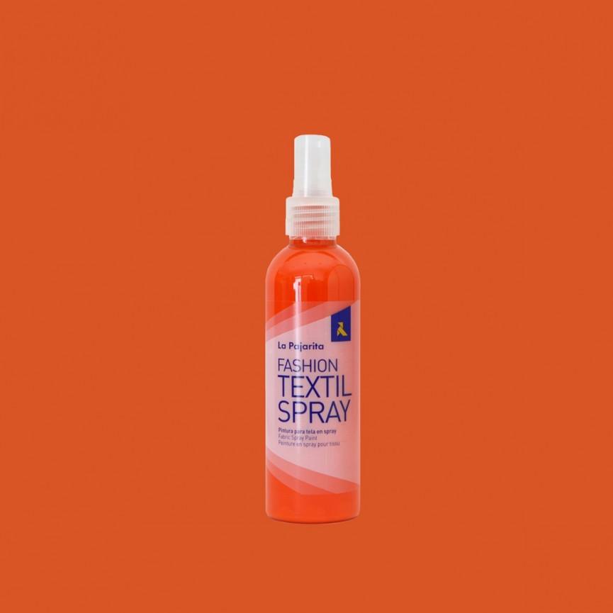 Farba do tkanin w Sprayu 100ml POMARAŃCZOWA