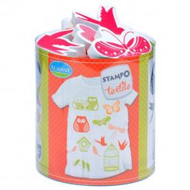 STEMPLE DO TKANIN - Natura / malowanie na tkaninie