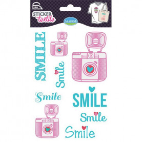 NAPRASOWANKI NA KOSZULKI / naklejki - smile