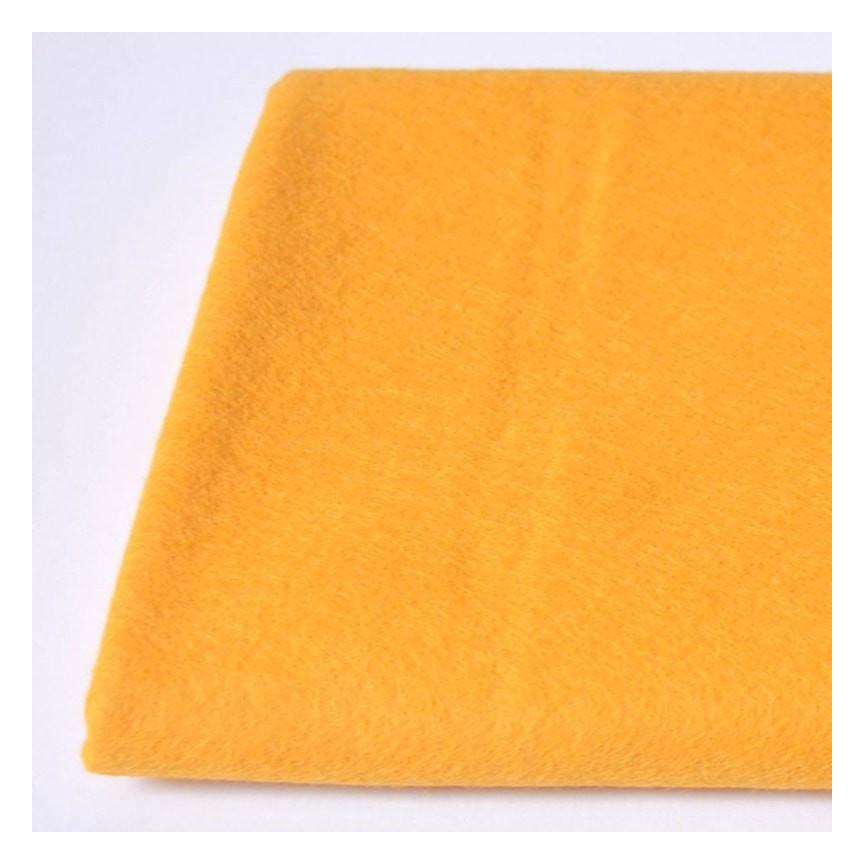 FILC WEŁNIANY DEKORACYJNY - 609 Żółty pastelowy
