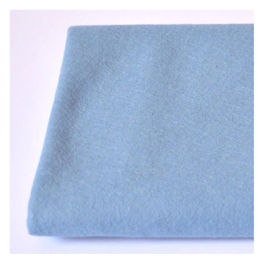 FILC WEŁNIANY DEKORACYJNY - 662 Niebieski jasny