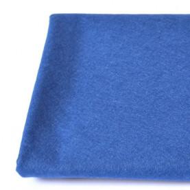 FILC WEŁNIANY DEKORACYJNY - 636 Niebieski ciemny