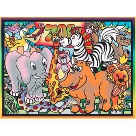 Puzzle COLORVELVET 30x40cm ZOO
