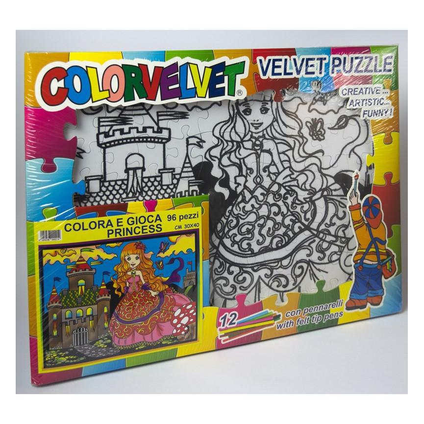 Puzzle COLORVELVET 30x40cm Kiężniczka
