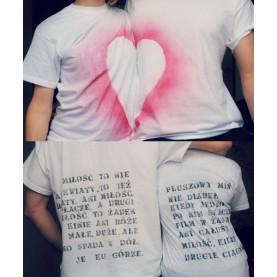 Zestaw Walentynkowy - Koszulka dla dwojga