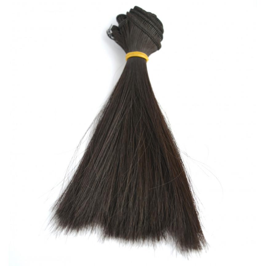 Włosy Do Lalek Proste Czarne