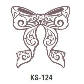 KOKARDA szablon malarski cieni 25cm 'Trendy Shadow'