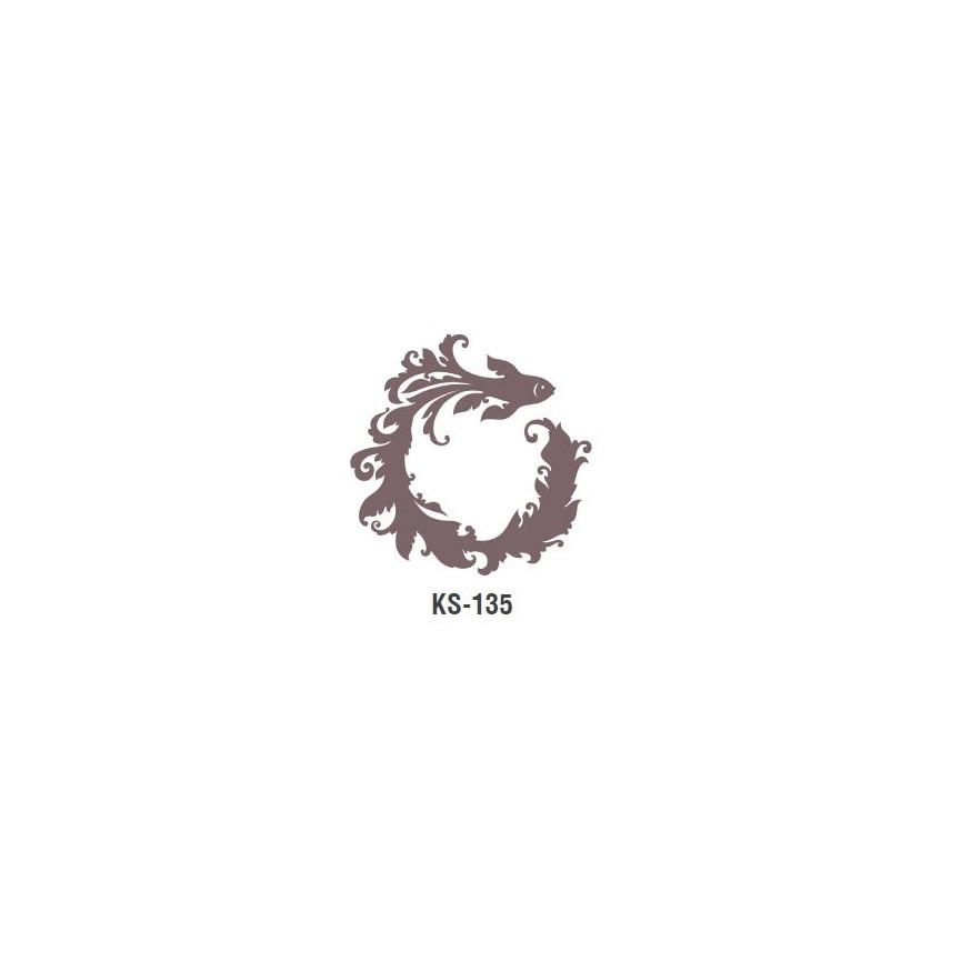 RYBA szablon malarski cieni 25cm 'Trendy Shadow'