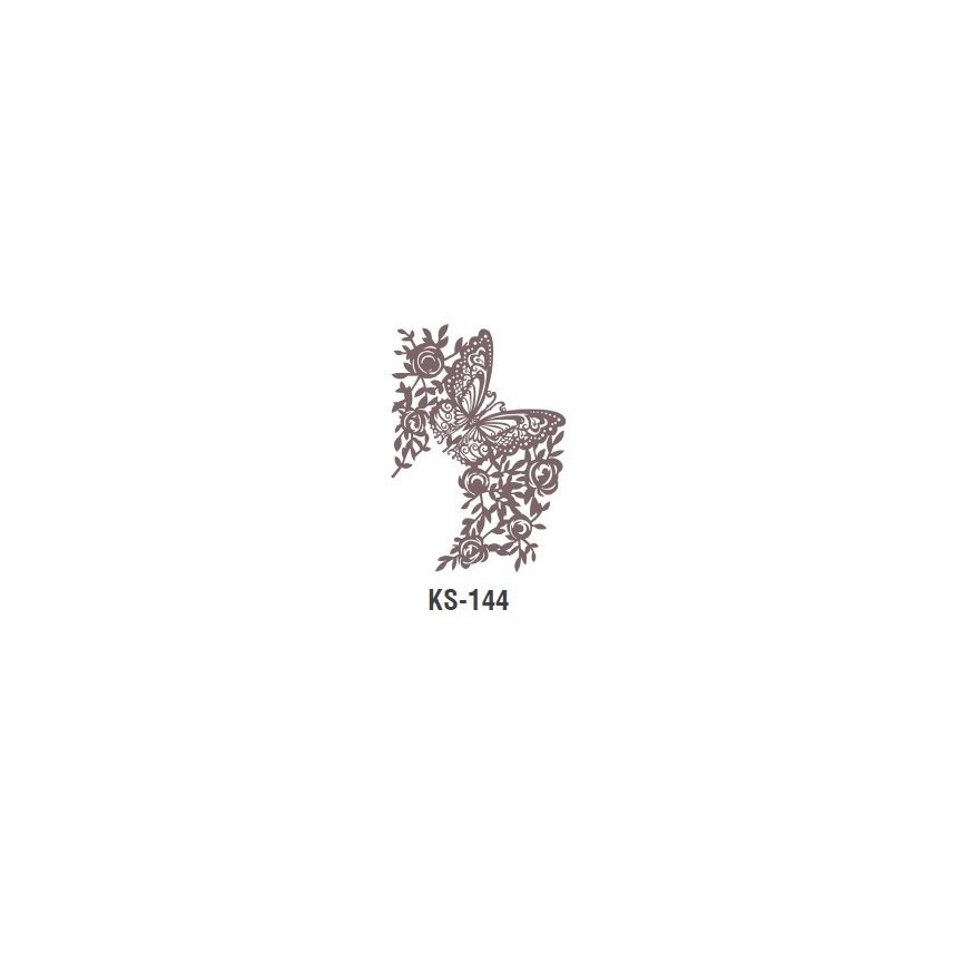 LEKKOŚĆ szablon malarski cieni 25cm 'Trendy Shadow'