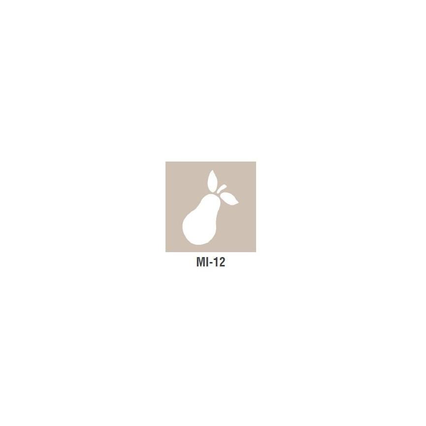 GRUSZKA szablon mały - 7 x 10cm