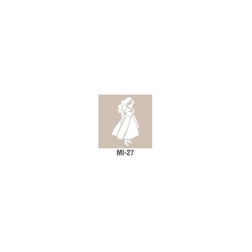 KSIĘŻNICZKA szablon mały - 7 x 10cm